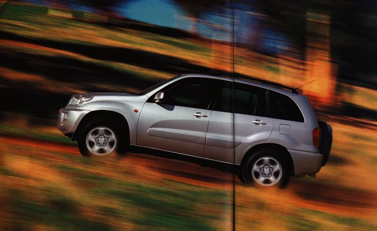 https://flic.kr/p/FLcszR | Toyota RAV4;  2000_3 | auto car brochure | by worldtravellib World Travel library