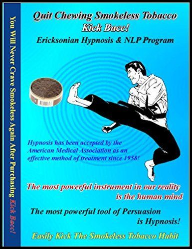 NeuroVISION Kick Bacc Quit Chewing Tobacco Hypnosis  NLP 7 Sessions on 2 CDs Relieves Stress and the Compulsion To Dip >>> Read more reviews of the product by visiting the link on the image.