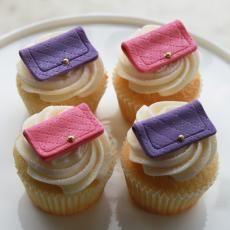Pretty Purse Cupcakes