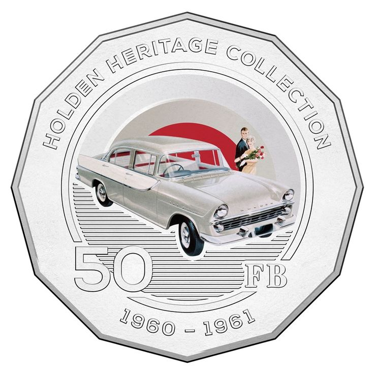 50c 2016 Holden Heritage Collection - FB reverse