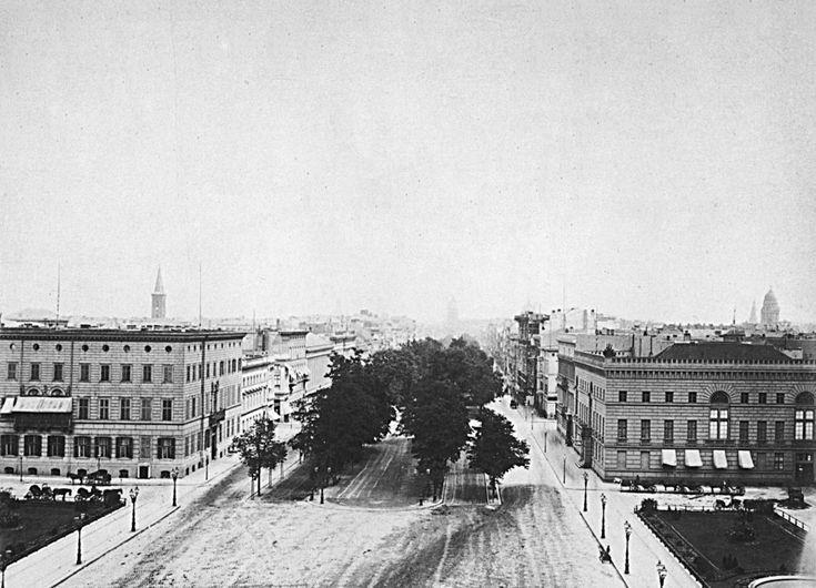 Berlin, Pariser Platz, 1884