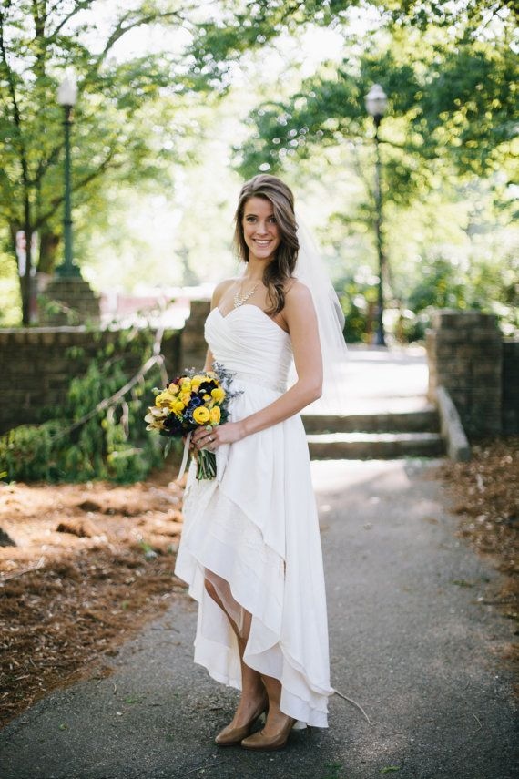 high low country wedding dresses