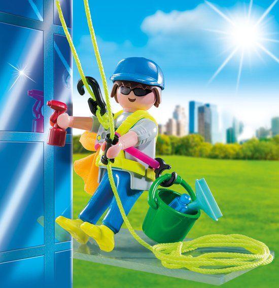 12 Playmobil Glazenwasser - 5379