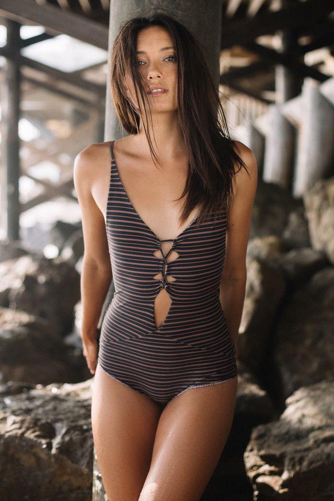 Acacia Swimwear: Kokomo one piece in dark classic 2016 | Soleil Blue