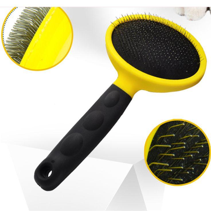 Dog Brushes And Combs Pet Dog Brush Shedding Cepillo Para Perros Pet Hair Trimmer Huisdieren Bath Produtos Para Grooming WWM721