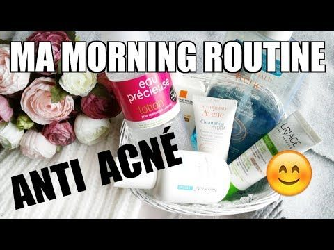Morning routine anti acné !  Comment se débarrasser des boutons #routine #acne #bouton #peau #conseil #beauté #avene #produits #comment #tuto