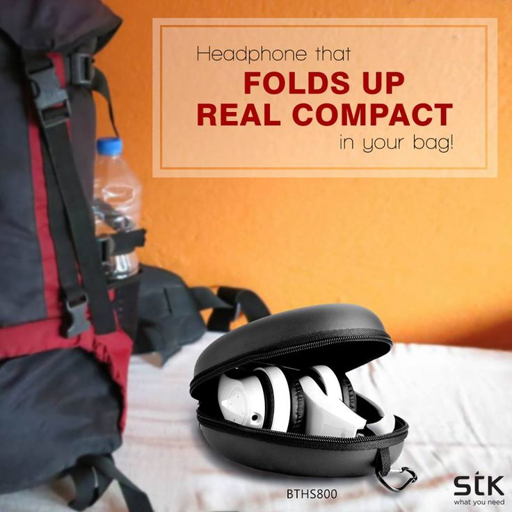 Looking for #headphones that do justice to your #music? And fold up real compact in your bag? #STK BTHS800 may be the one for you. #STKAccessories