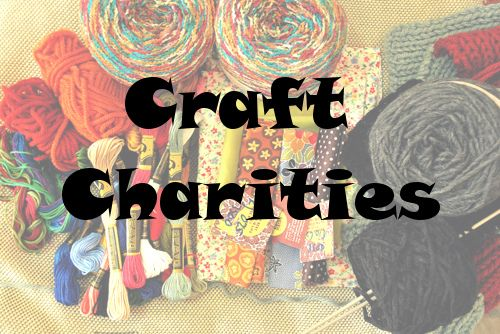all our favorite #craft charities