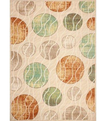 Luxusní koberec akryl Buble béžový