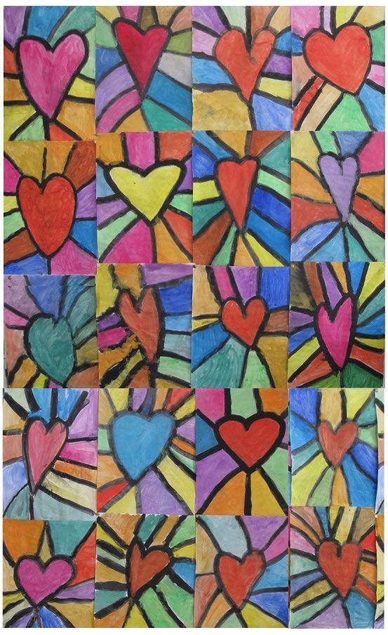Einige Ergebnisse aus dem Kunstunterricht – Schule Am Lindenberg