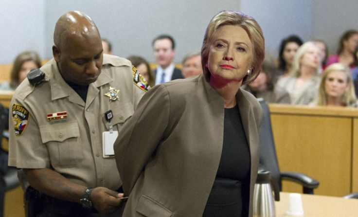 """According to Raleigh's ABC Channel 11 news, Hillary Clinton has just been attained by Raleigh police for campaigning at an early polling location. She showed up with a few other campaign staff members at an early voting location on Sunday in Raleigh, North Carolina, in clear violation of electioneering laws. Clinton was """"mobbed"""" at the …"""