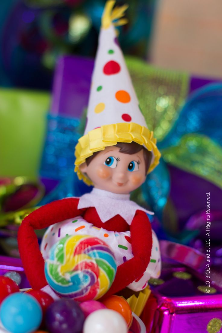 1000+ Images About Birthday Elf On The Shelf On Pinterest
