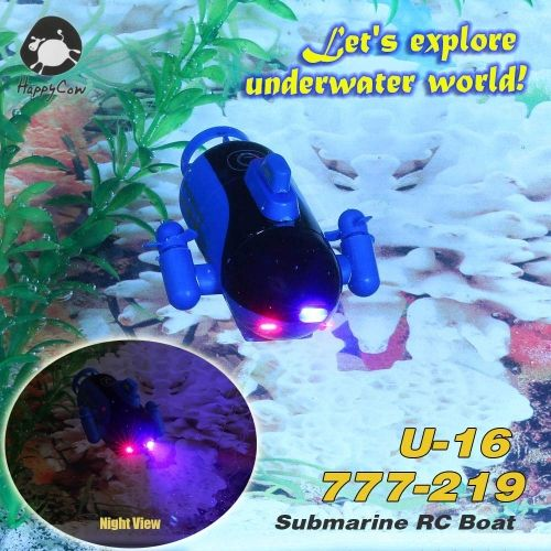 HappyCow U-16 777-219 Radio Control Submarine RC Boat