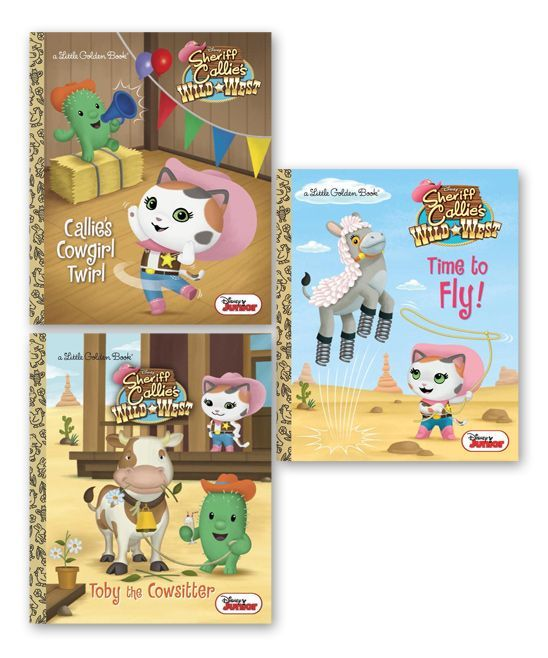 Sheriff Callie's Wild West Little Golden Book Hardcover Set