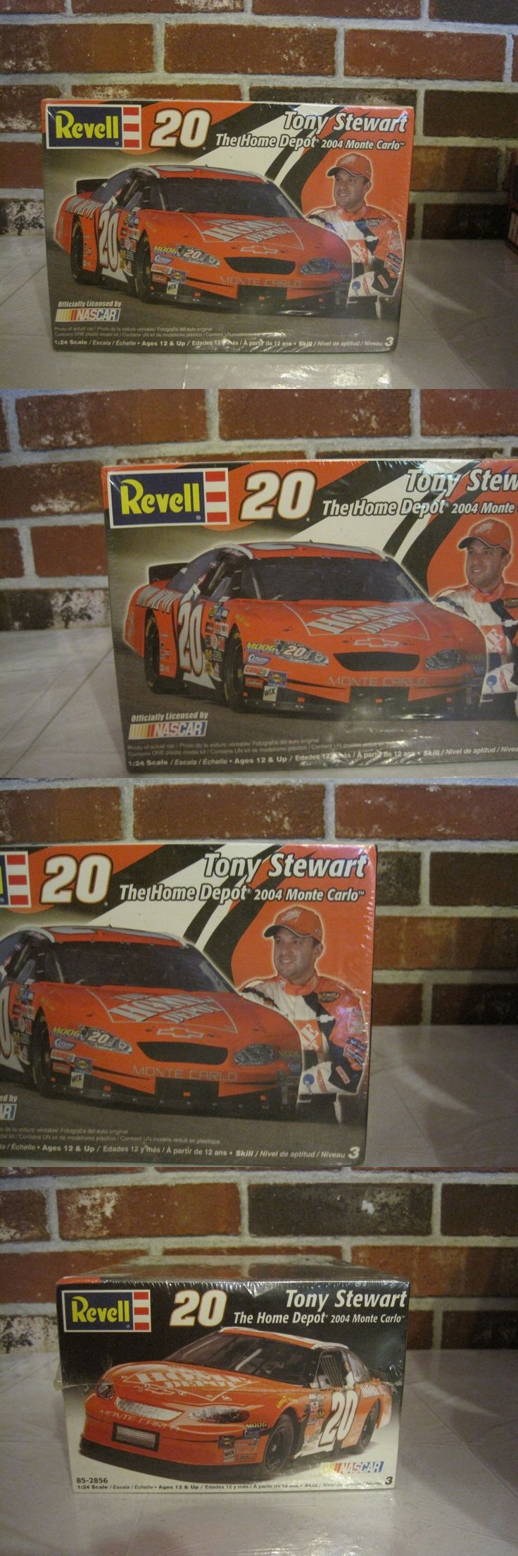 Kits 145964: 2004 Revell #20 Tony Stewart Monte Carlo Model Car The Home Depot--Nascar--New -> BUY IT NOW ONLY: $94.99 on eBay!