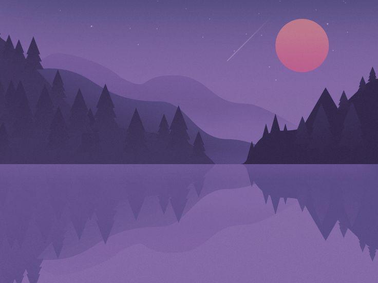 Moon Lake by kawen