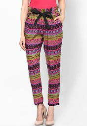 Paprika Multi Printed Trouser Online Shopping Store
