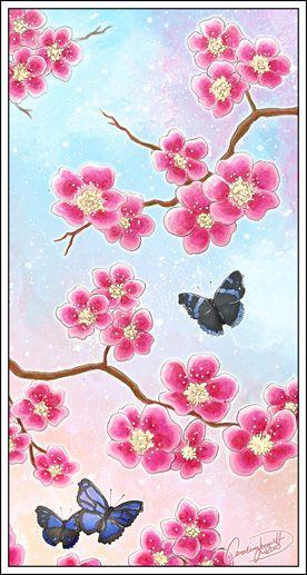 Cherry tree by ~chokolachip on deviantART