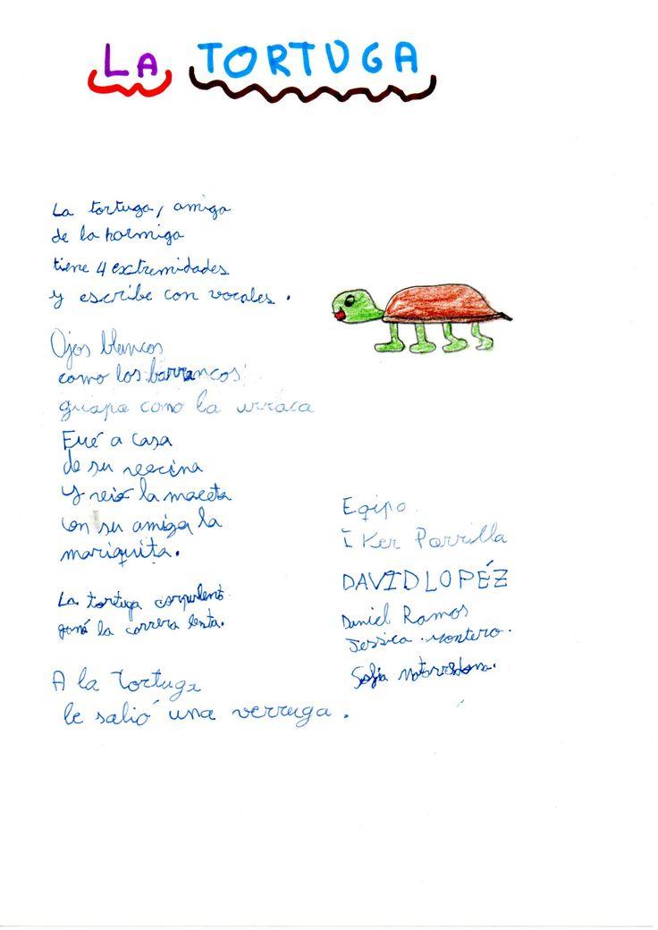 Texto creativo, alumnos de 3º B La tortuga