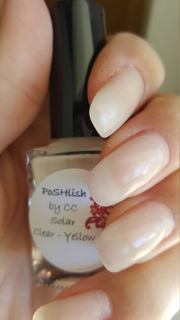 Unique Solar Color Changing Clear Yellow Nail Polish Full Size 15ml Bottle By Poshlish On