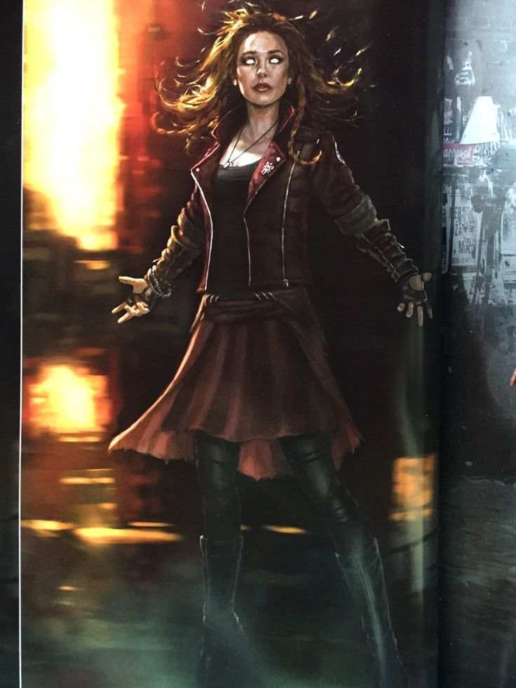 Wanda Maximoff/Scarlet Witch Concept Art Avengers Age of Ultron by Andy Park.Cannot wait to see her new Avengers costume in Civil War!