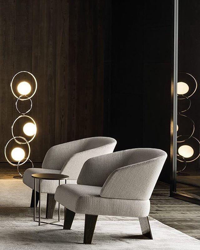 Creed small armchair - Rodolfo Dordoni design…