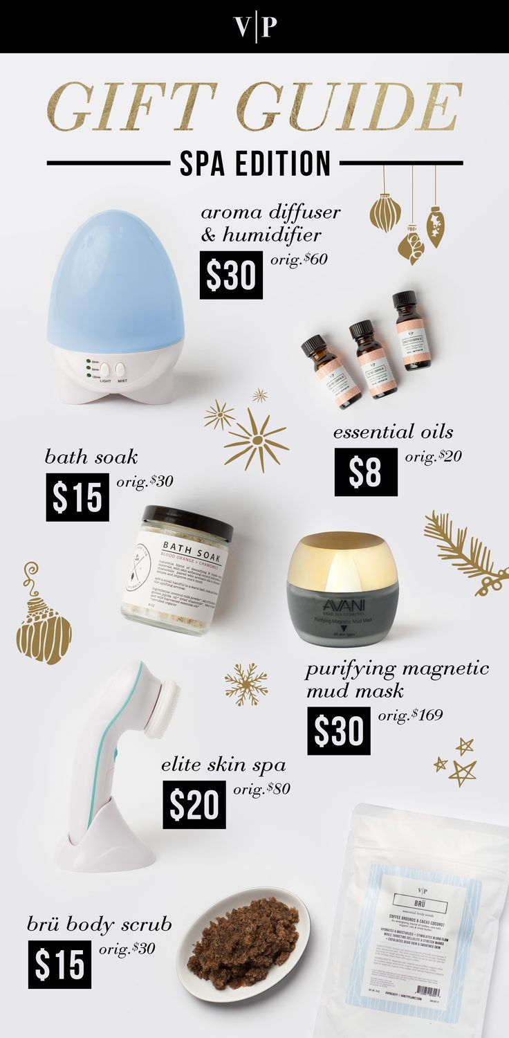 Vanity Planet 2015 Holiday Gift Guide - Spa Edition.