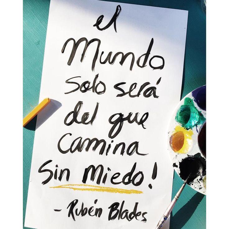 Sin Miedo....Ruben Blades by Sheila Burgos