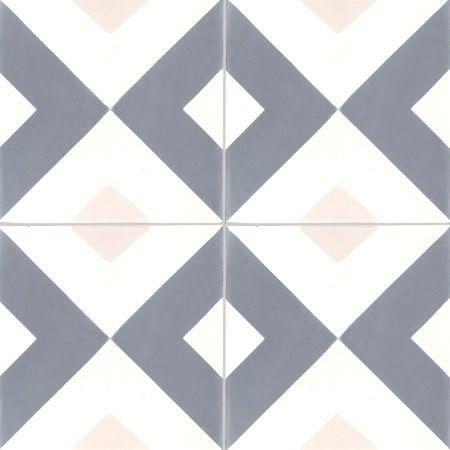 Carreaux de ciment - Les motifs - Carreau NC5 33.10.07 - Couleurs & Matières