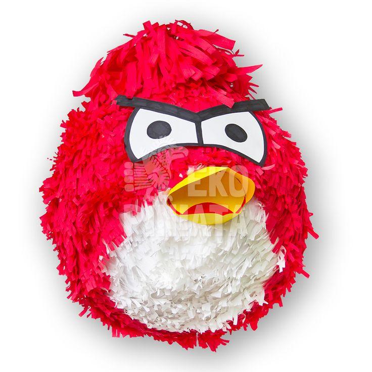 Piniata Angry Birds Red  Zapraszamy do naszego sklepu www.ekopiniata.pl
