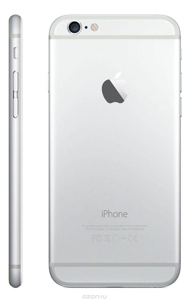 Apple iPhone 6 64GB, Silver - купить в разделе электроника apple iphone 6 64gb, silver по лучшей цене от интернет-магазина OZON.ru 51.529р  или 2.731 р в месяц!