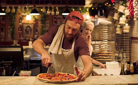 Frankie's Pizza by the slice Address 50 Hunter St, Sydney 2000. open 4pm-4am