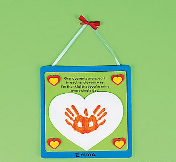 Great Grandparents Day Gift Ideas For Kids To Craft Grandparent