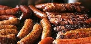 A years worth of sausages would be good.