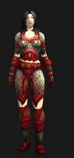 Demon-Forged Mail - Transmog Set - World of Warcraft
