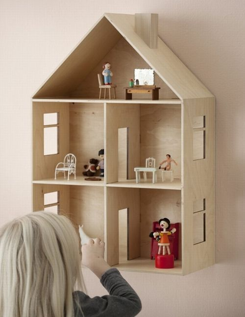 Decorar casa de muñecas