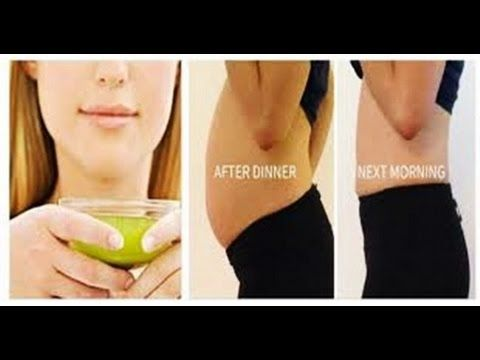 DRINK THIS FOR 4 NIGHTS AND LOOSE 5 KG WEIGHT – REMOVES ALL BULGY FAT FR...