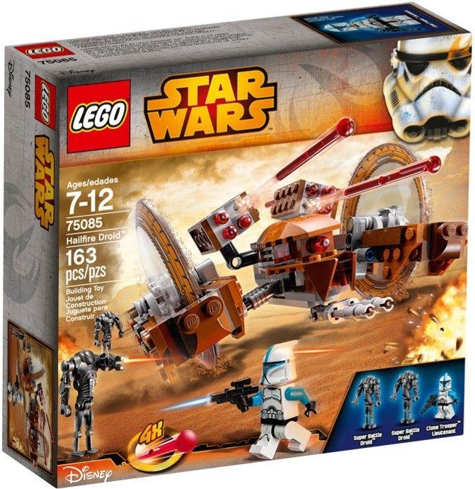 Comparez les prix du LEGO Star Wars 75085 Le droïde Hailfire avant de l'acheter ! Infos, description, images, vidéos et notices du LEGO 75085 Le droïde Hailfire sur Avenue de la brique