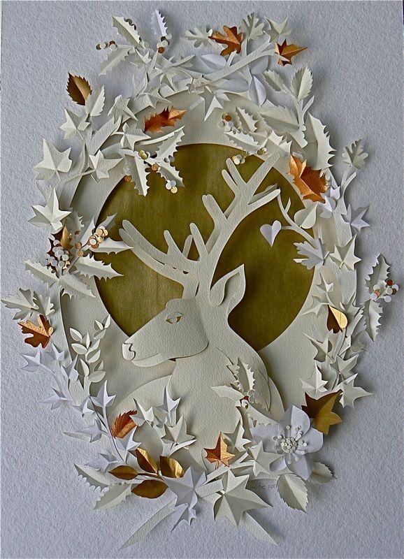 125 best helen musselwhite paper art images on pinterest for Beautiful paper cutting art