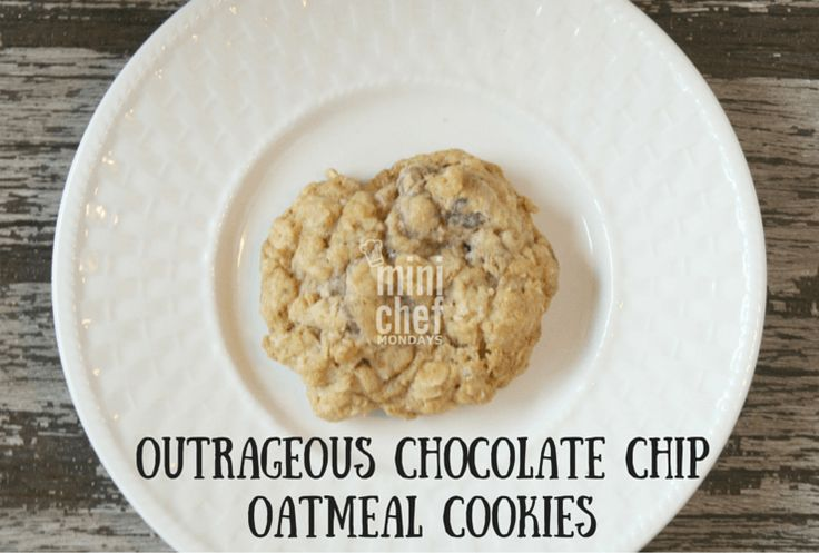 ... cookies chocolate chips chocolate chip oatmeal outrageous chocolate