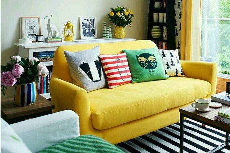 Minion Yellow Colour Trend |Interiors