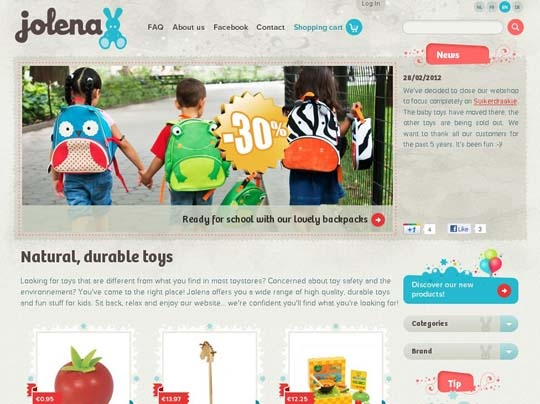 Showcase of Websites for Kids