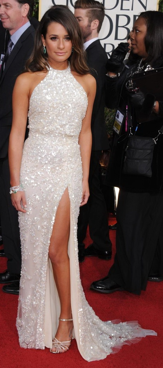 70th Annual Golden Globe Awards  In This Photo: Lea Michele