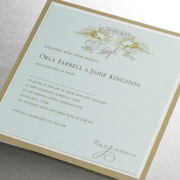 Finer Details Classic Wedding Invitation Collection