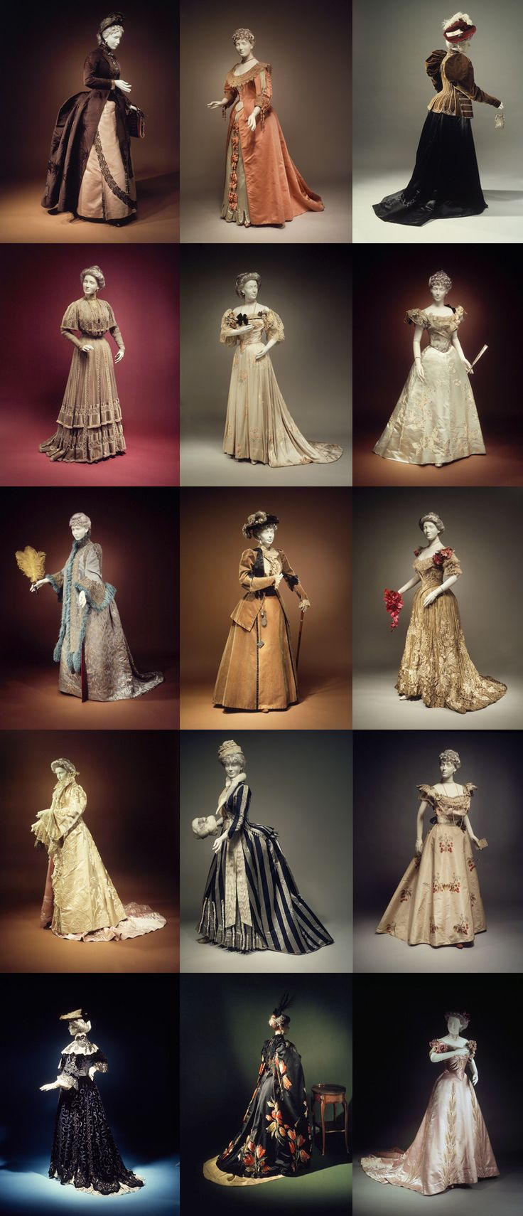 """ This 1989 exhibition of the Brooklyn Museum was called The Opulent Era: Fashions of Worth, Doucet and Pingat, and featured many exquisite works from the greatest couture houses of la belle époque. """