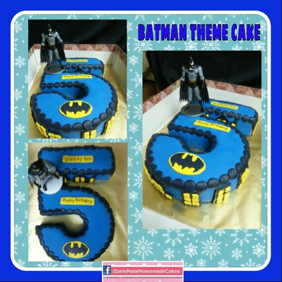 Batman cake. Braydon's 5th birthday.