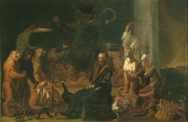 Saftleven, Cornelis - Пародия на осуждение Johan van Oldenbarnevelt, 1650-63, Дерево, масло Музей Франса Халса в Харлеме