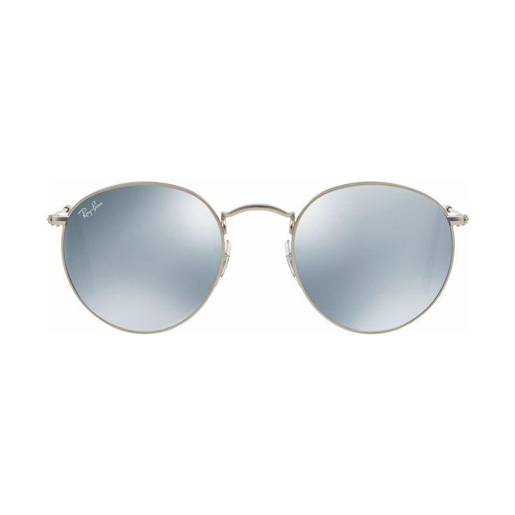 COOLBLUE | Ray-Ban Round RB3447 Matte Silver / Green Mirror Silver  €149.95€134.96  #ikwildagaanbiedingen