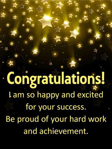 The 25+ best Congratulations messages for achievement ideas on - free congratulation cards