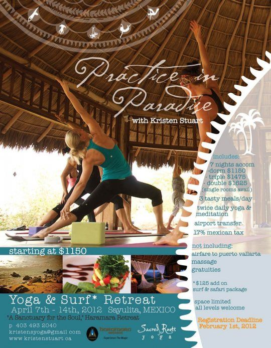 10 Best Yoga Flyer Examples Images On Pinterest | Flyer Design